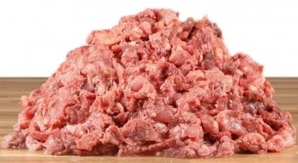 Hakket kød til dyr